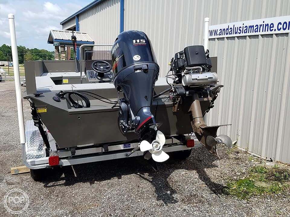 2019 Alweld boat for sale, model of the boat is 2070 bowfishing & Image # 19 of 22