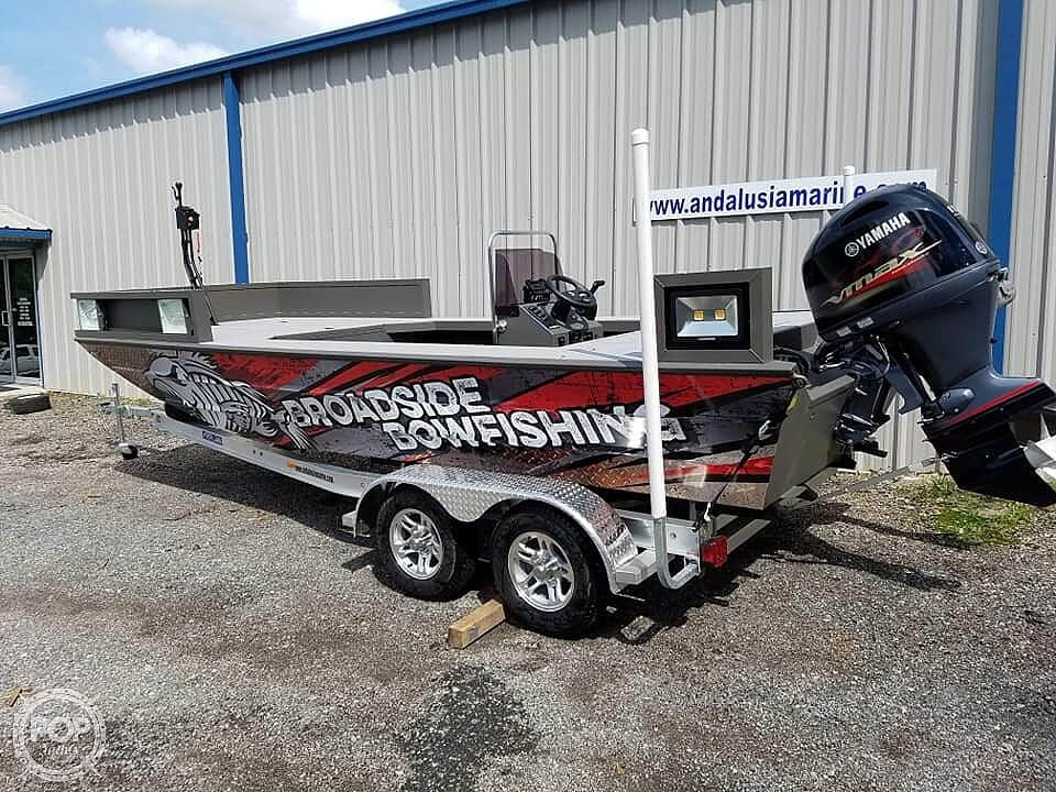 2019 Alweld boat for sale, model of the boat is 2070 bowfishing & Image # 21 of 22