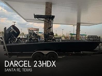 Used Power boats For Sale in Beaumont, Texas by owner   2018 Dargel 23hdx