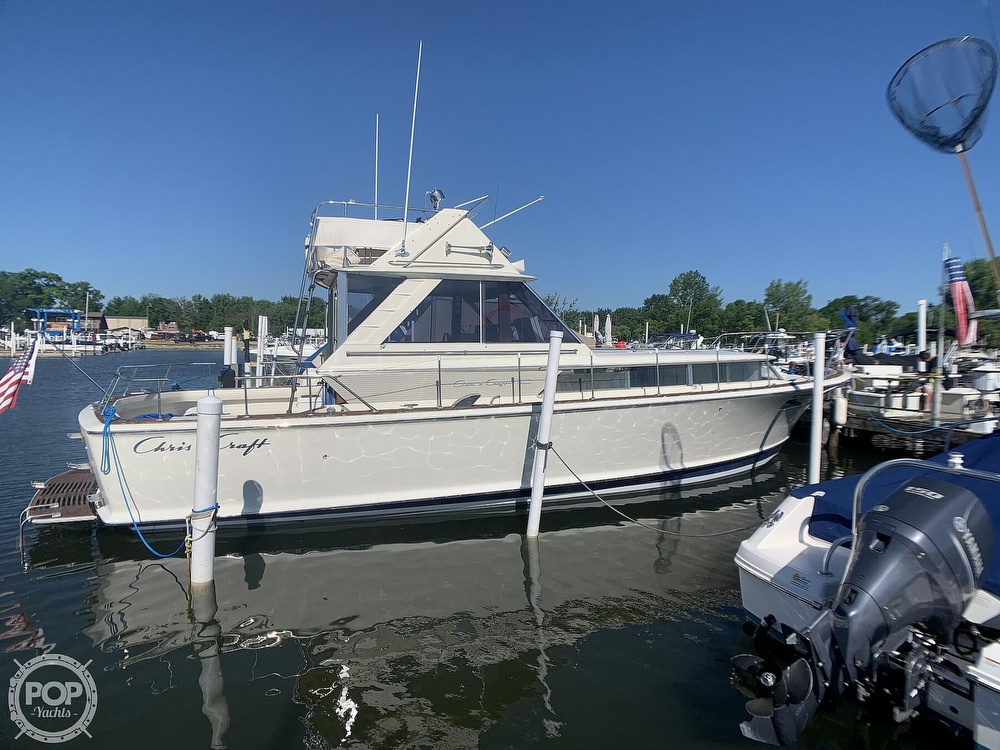 1969 Chris Craft boat for sale, model of the boat is 38 Commander & Image # 8 of 40