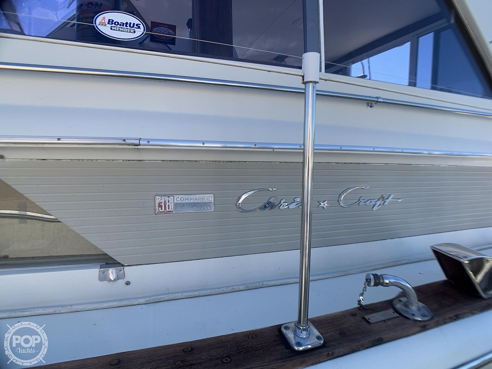 1969 Chris Craft boat for sale, model of the boat is 38 Commander & Image # 15 of 40