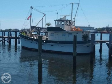 North Sea 63' Trawler, 63', for sale - $139,000