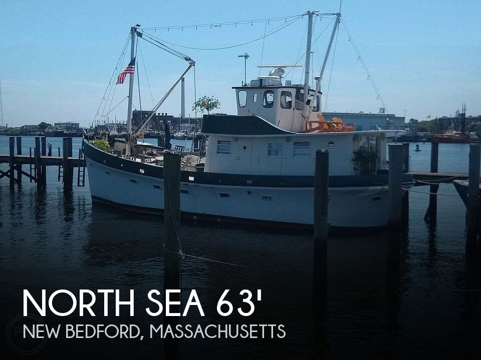 1985 North Sea boat for sale, model of the boat is 63' Trawler & Image # 1 of 40