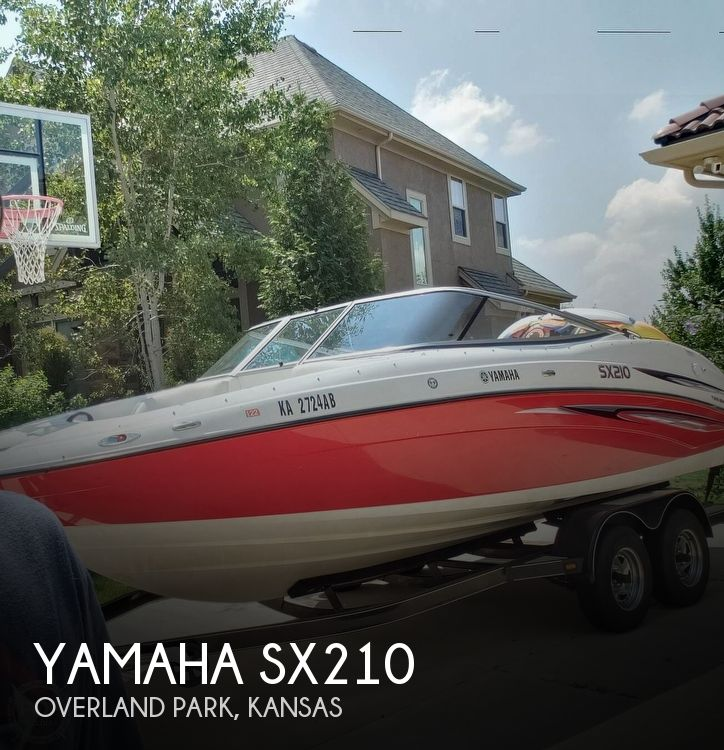 Used Power boats For Sale in Kansas by owner | 2007 Yamaha SX210