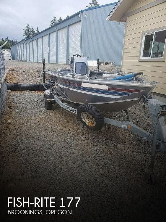 1996 Fish-Rite boat for sale, model of the boat is Stealth 177 & Image # 1 of 10