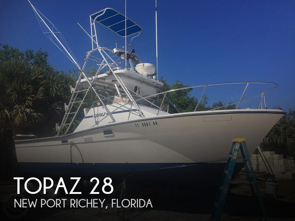 Used Topaz Boats For Sale by owner | 1978 Topaz TOPAZ 28 Sportfish