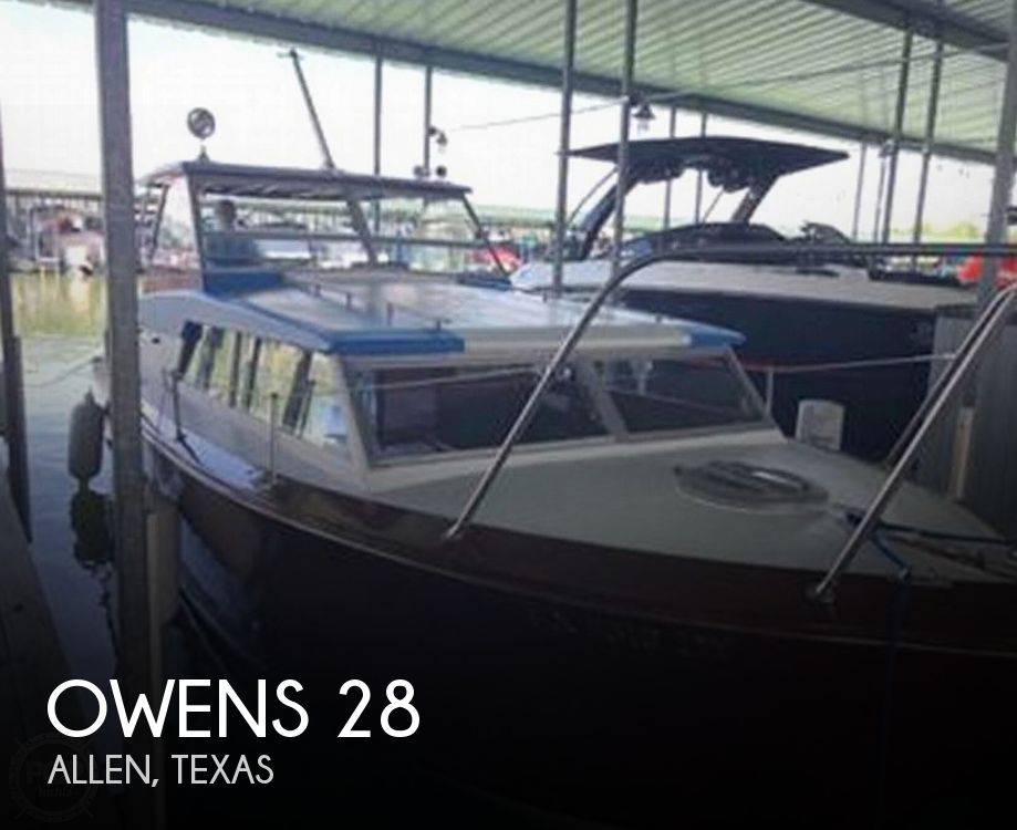 Used Owens Boats For Sale by owner | 1968 Owens Flagship 28