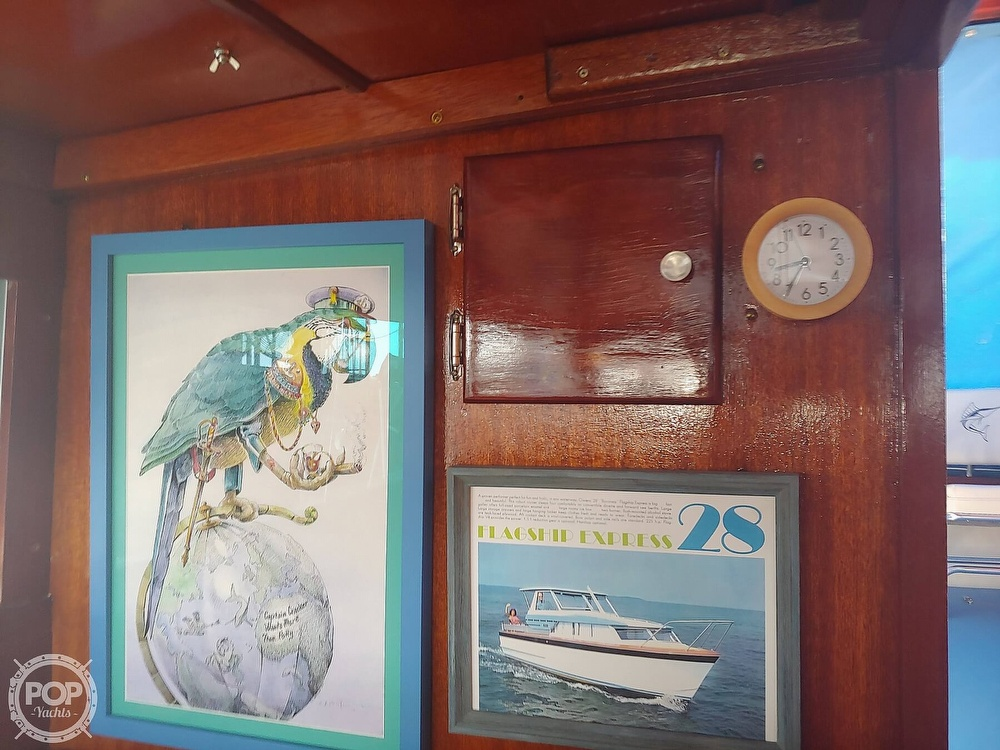 1968 Owens boat for sale, model of the boat is Flagship 28 Express & Image # 37 of 40