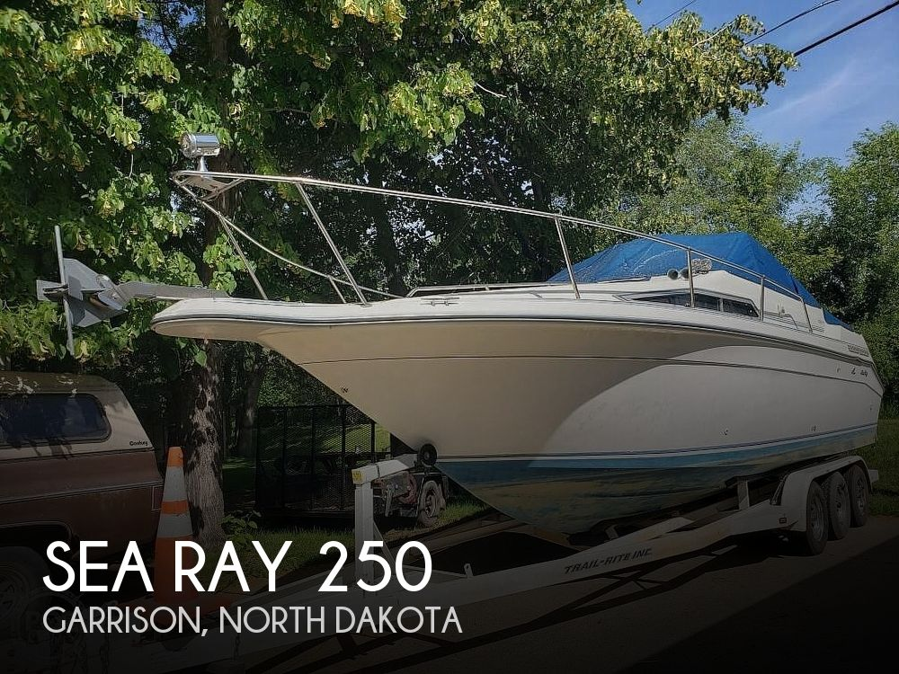 Used Boats For Sale in North Dakota by owner | 1990 Sea Ray 250 Sundancer
