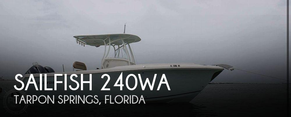 Used Sailfish Boats For Sale by owner | 2017 Sailfish 240WA
