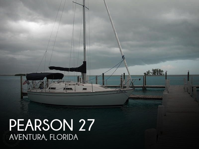 Used Tillotson   Pearson Boats For Sale by owner | 1989 Pearson 27