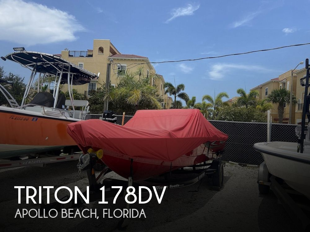 2016 Triton boat for sale, model of the boat is 178DV & Image # 1 of 41