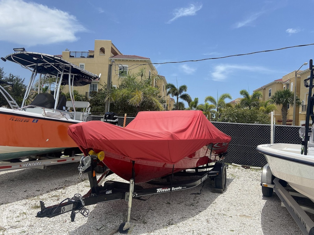 2016 Triton boat for sale, model of the boat is 178DV & Image # 7 of 41