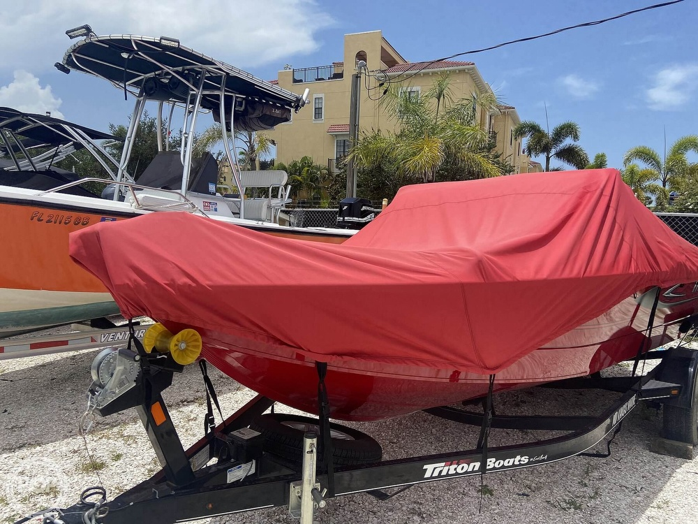 2016 Triton boat for sale, model of the boat is 178DV & Image # 9 of 41