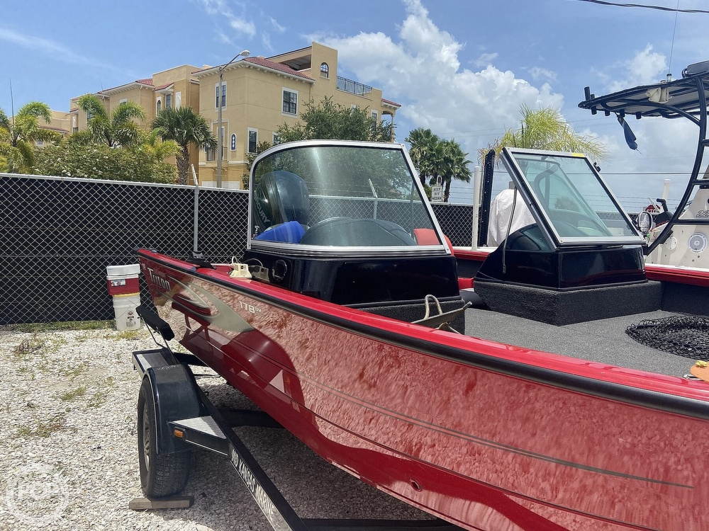 2016 Triton boat for sale, model of the boat is 178DV & Image # 2 of 41