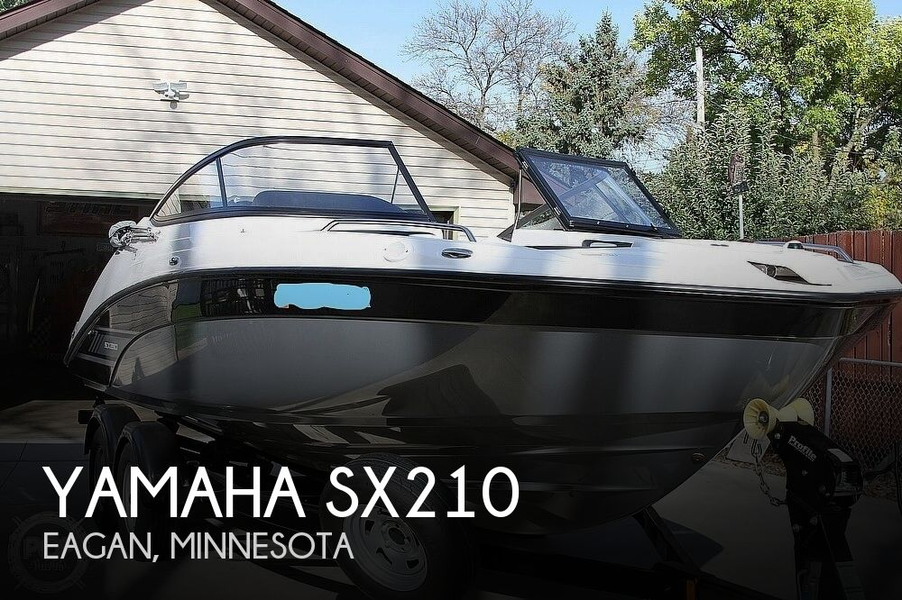 2017 Yamaha boat for sale, model of the boat is SX210 & Image # 1 of 41