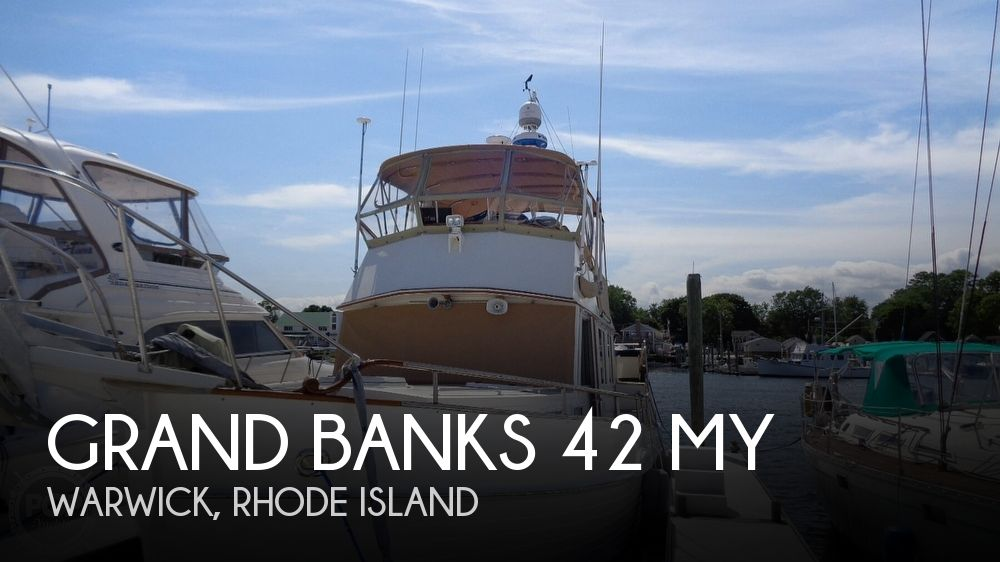 1990 GRAND BANKS 42 MY for sale