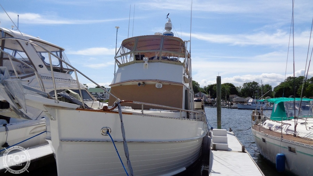 1990 Grand Banks boat for sale, model of the boat is 42 MY & Image # 2 of 40