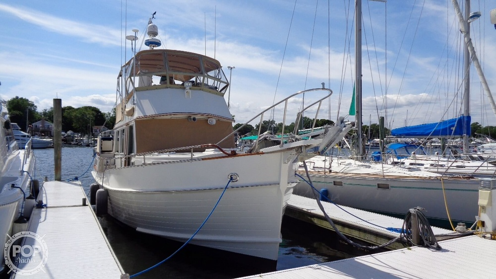 1990 Grand Banks boat for sale, model of the boat is 42 MY & Image # 3 of 40