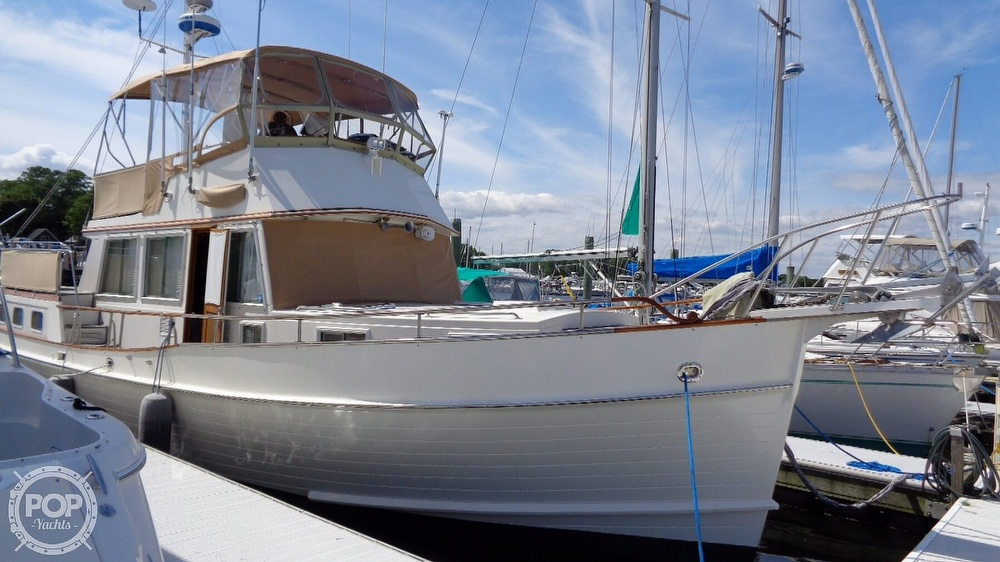 1990 Grand Banks boat for sale, model of the boat is 42 MY & Image # 4 of 40