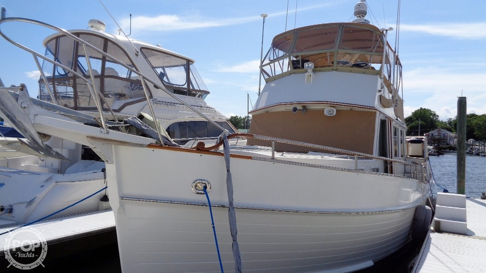 1990 Grand Banks boat for sale, model of the boat is 42 MY & Image # 10 of 40