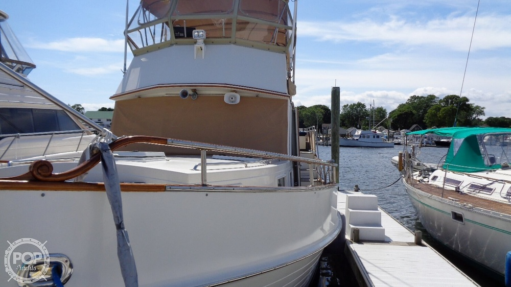 1990 Grand Banks boat for sale, model of the boat is 42 MY & Image # 16 of 40