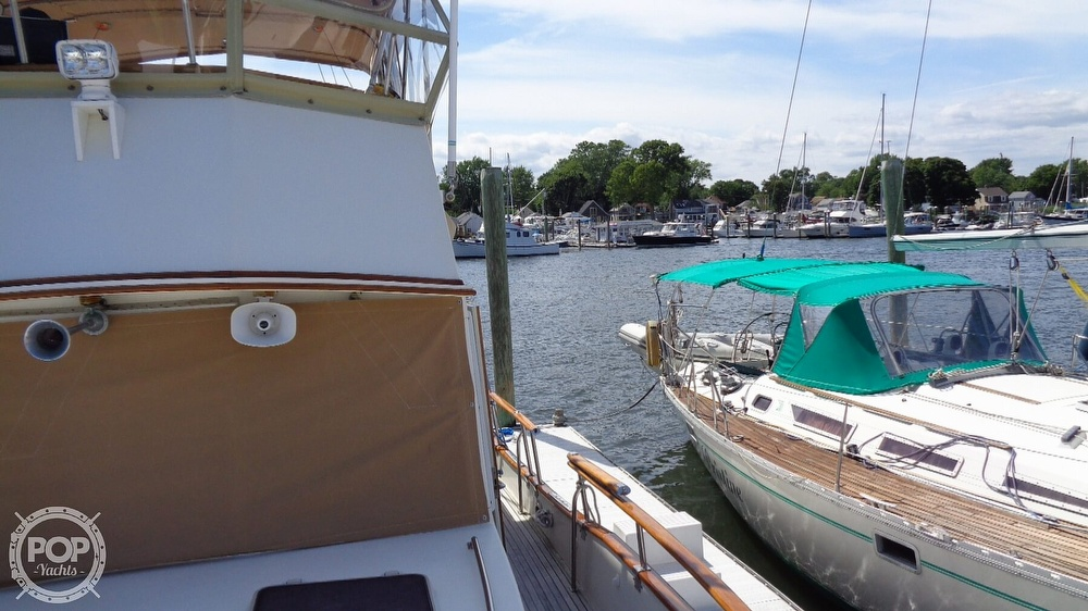 1990 Grand Banks boat for sale, model of the boat is 42 MY & Image # 34 of 40