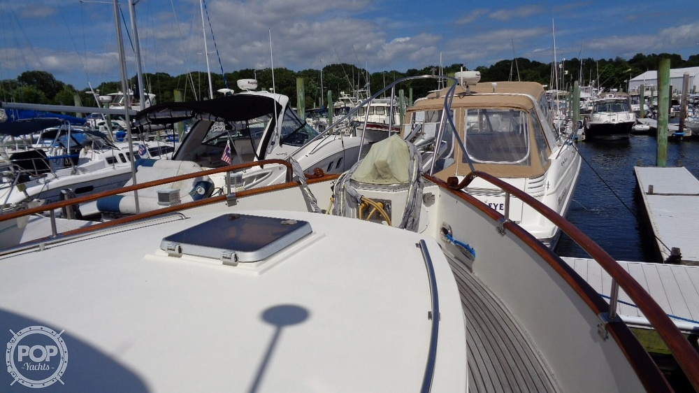 1990 Grand Banks boat for sale, model of the boat is 42 MY & Image # 37 of 40