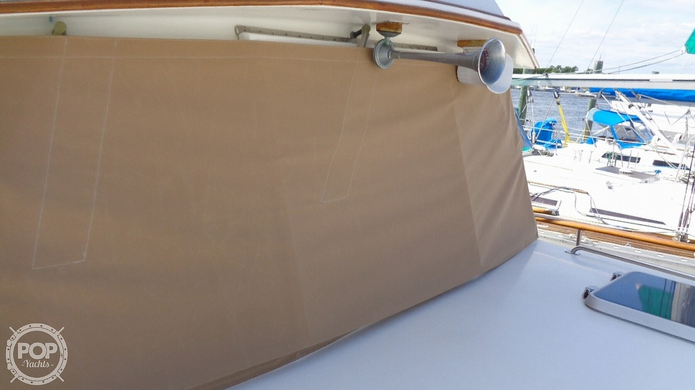1990 Grand Banks boat for sale, model of the boat is 42 MY & Image # 39 of 40