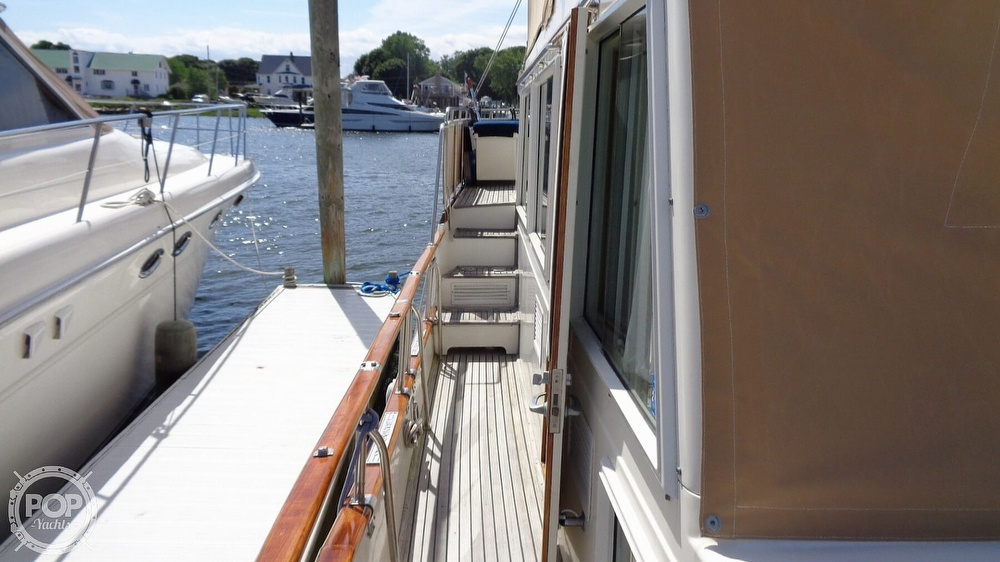 1990 Grand Banks boat for sale, model of the boat is 42 MY & Image # 40 of 40