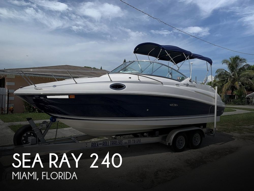 Used Sea Ray 24 Boats For Sale by owner | 2008 Sea Ray Sundancer 240