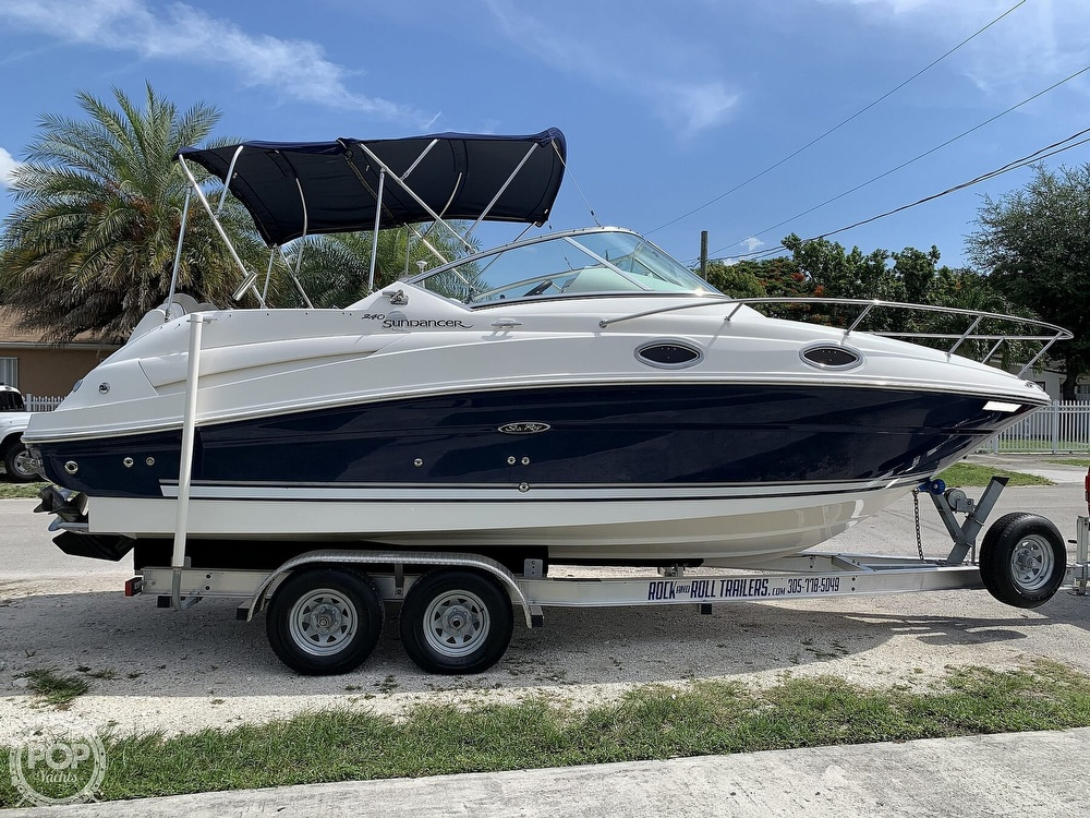 2008 Sea Ray boat for sale, model of the boat is 240 Sundancer & Image # 8 of 40