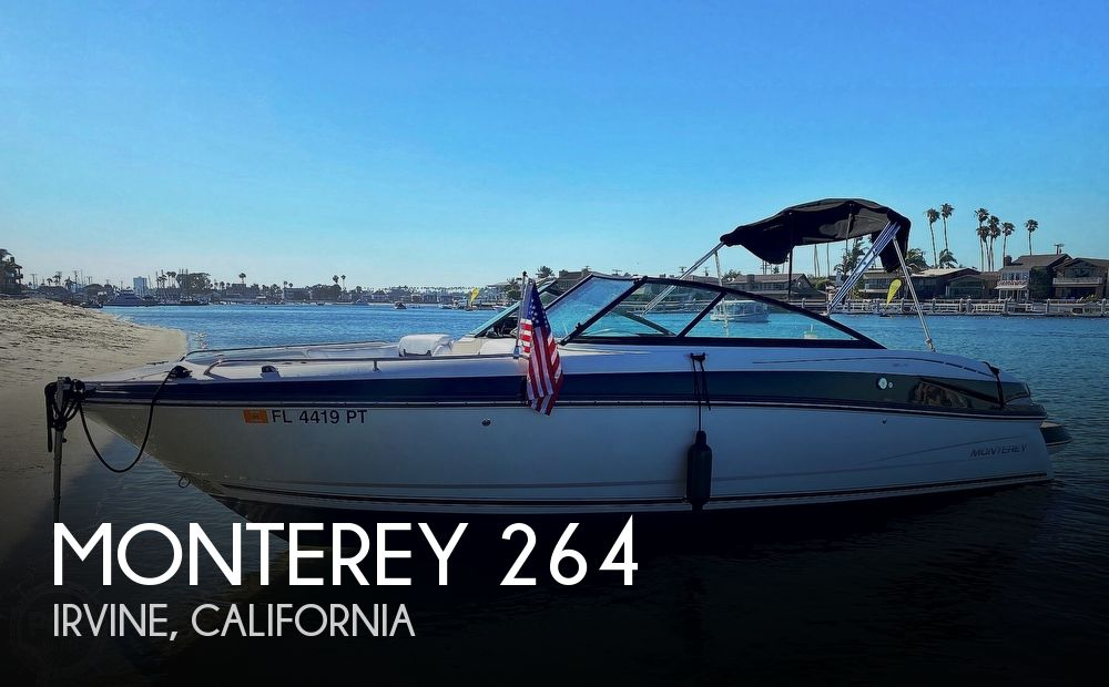 Used Monterey Boats For Sale in California by owner | 2015 Monterey 264