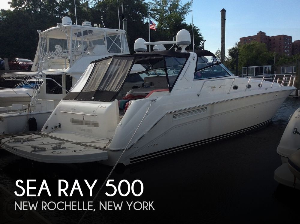 Used Sea Ray Boats For Sale in New York by owner | 1999 Sea Ray 500 Sundancer
