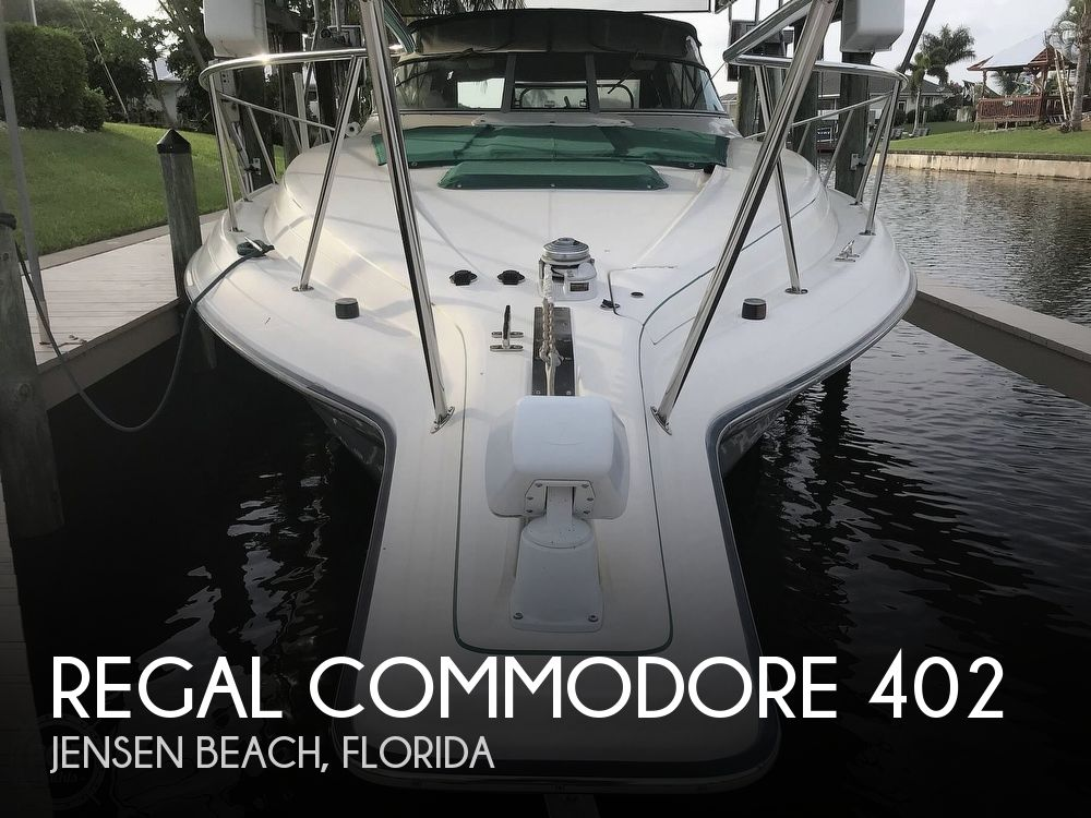 1996 Regal boat for sale, model of the boat is Commodore 402 & Image # 1 of 40