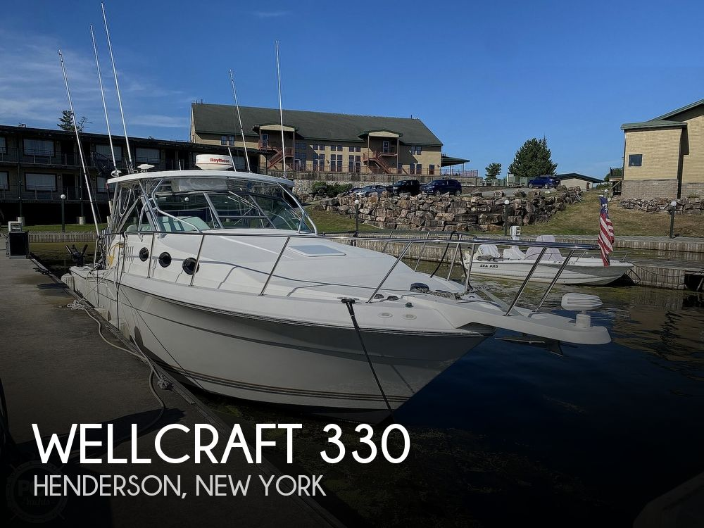 2001 Wellcraft boat for sale, model of the boat is Coastal 330 & Image # 1 of 40