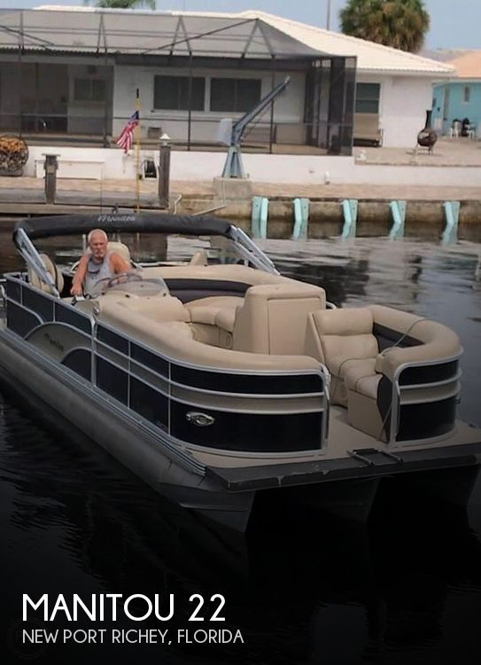 Used Pontoon Boats For Sale in Florida by owner | 2013 Manitou 22