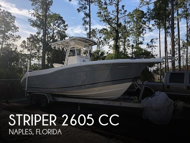 Used Striper Boats For Sale by owner | 2016 Striper 2605