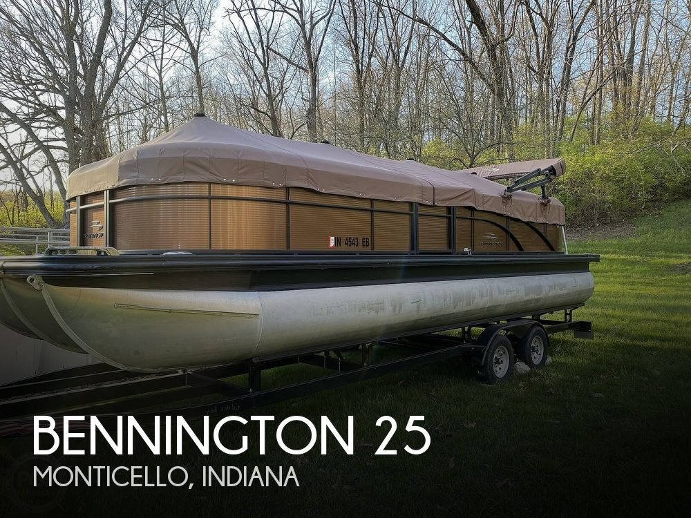 Used Pontoon Boats For Sale by owner | 2018 Bennington 25