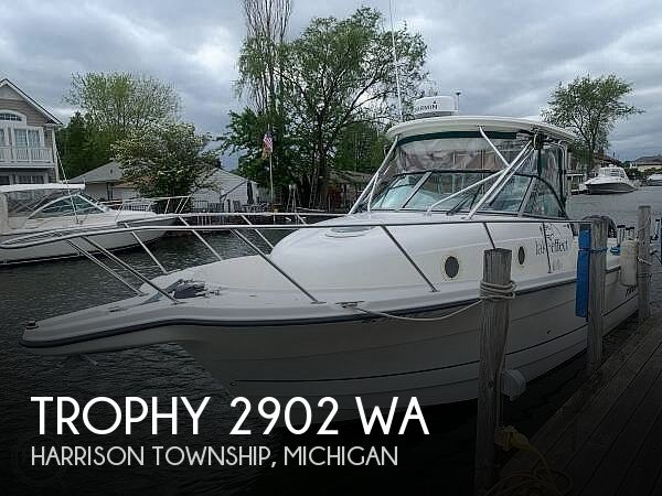 Used Trophy Boats For Sale by owner | 2006 Trophy 2902 WA