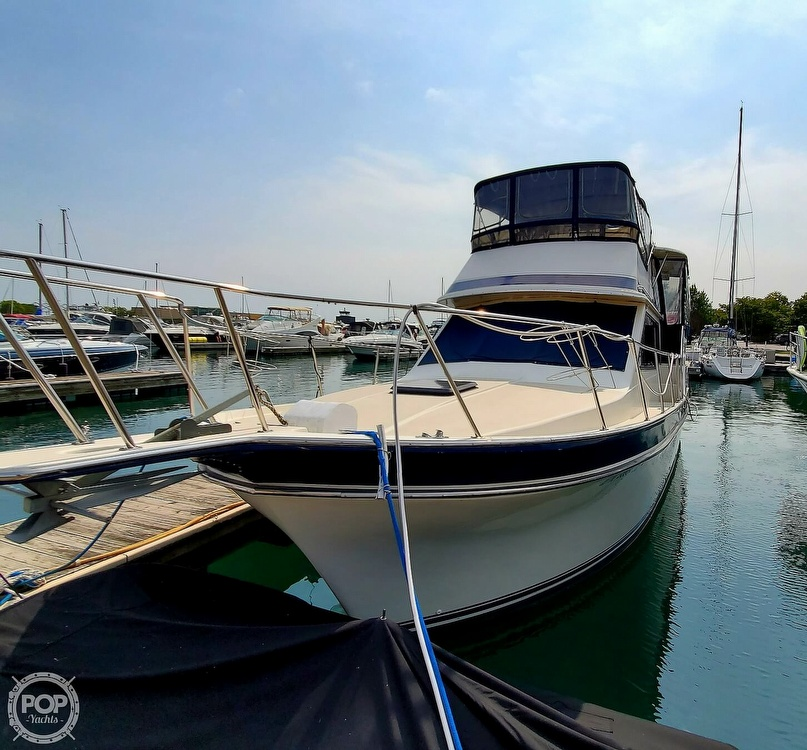 1985 Wellcraft boat for sale, model of the boat is Californian 35 MY & Image # 7 of 40