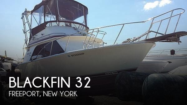 Used Blackfin Boats For Sale by owner | 1986 Blackfin 32 Flybridge