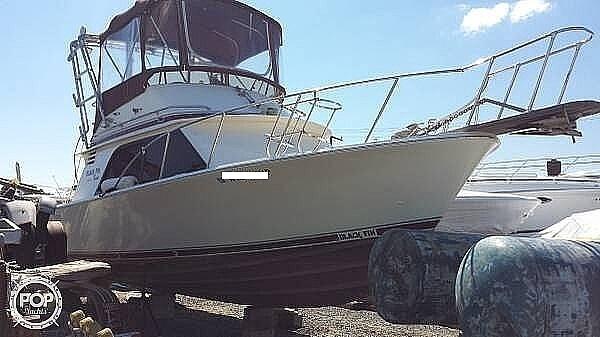 1986 Blackfin boat for sale, model of the boat is 32 Flybridge & Image # 11 of 12
