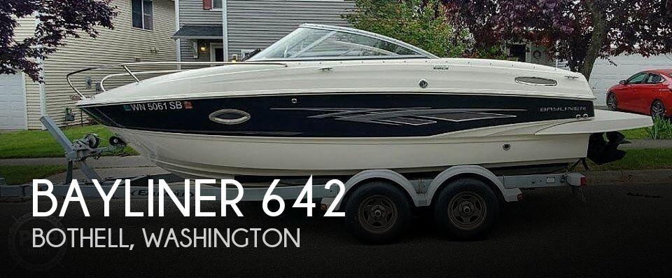 Used Bayliner Boats For Sale in Washington by owner | 2014 Bayliner 642 Overnighter