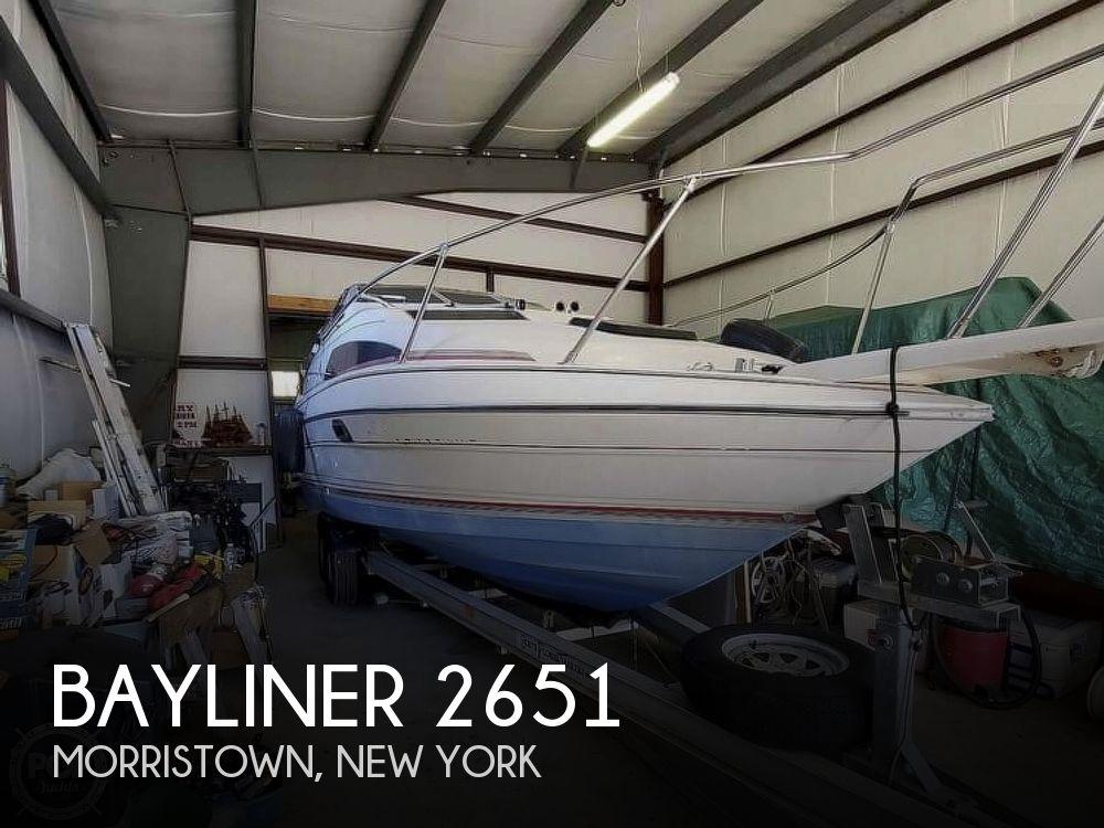 1990 Bayliner boat for sale, model of the boat is 2651 Ciera Sunbridge & Image # 1 of 1