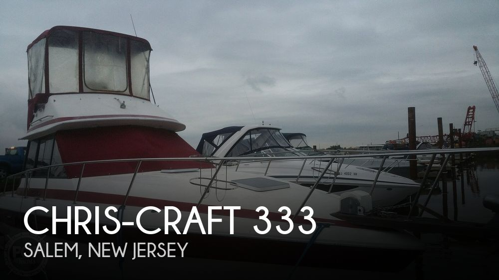 Used Motoryachts For Sale by owner | 1984 Chris-Craft 333 Commander