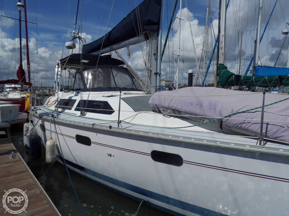 1997 Hunter boat for sale, model of the boat is Passage 42 & Image # 10 of 40