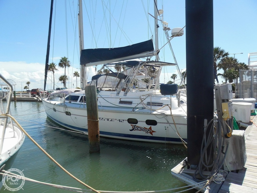 1997 Hunter boat for sale, model of the boat is Passage 42 & Image # 11 of 40