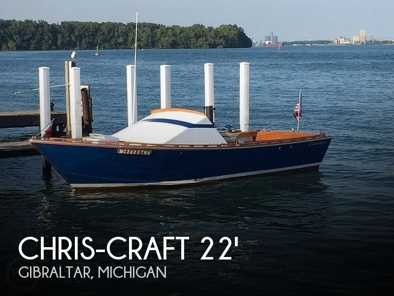 Used Chris-Craft Boats For Sale in Michigan by owner | 1966 Chris-Craft Cavalier Cutlass 22'