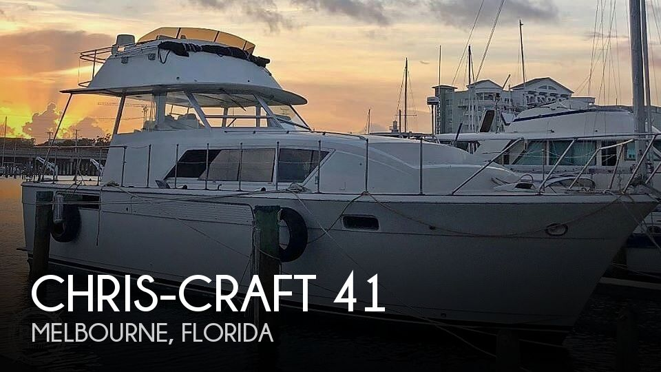 Used Chris-Craft Motoryachts For Sale by owner | 1974 Chris-Craft 41